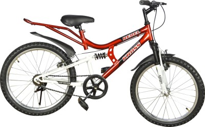 Kross Rebel 20 Inch 402362 Recreation Cycle(Red, White)