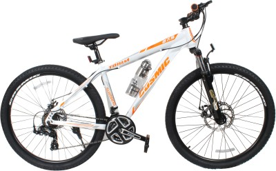 COSMIC TRIUM 27.5 INCH MTB BICYCLE 21 SPEED WHITE/ORANGE-PREMIUM EDITION TRIUM26WTOR Hybrid Cycle