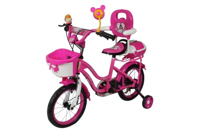HLX-NMC KIDS BICYCLE 14 BOWTIE PINK/WHITE 14BOWTIEPKWT Recreation Cycle(Pink, White)