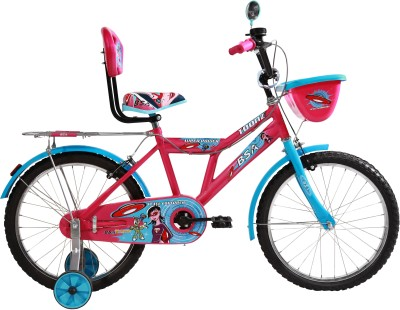 BSA CHAMP TOONZ 14 INCH BICYCLE with plastic wheel PINK 14 Road Cycle(Pink)