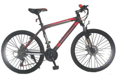 COSMIC FLASH MTB BICYCLE (21 SPEED) BLACK/RED 26FLASHBKRD Hybrid Cycle