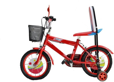 Taaza Garam Kids Imported High Quality 14 Inch with Carrier Red BMX Cycle