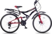 Hero Sprint 26T Winner 18 Speed SWIN26BKRD02 Road Cycle(Black)