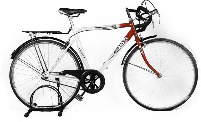 BSA Mach 27 White&Red BS-MCH700CWHT Hybrid Cycle