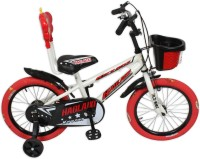 HLX-NMC KIDS BICYCLE 16 PRINTED TYRE WHITE/RED 16PTWTRD Recreation Cycle(White, Red) best price on Flipkart @ Rs. 4399