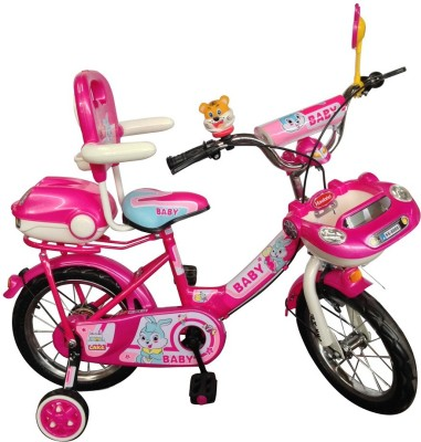 HLX-NMC KIDS BICYCLE 14 CAR-X PINK/WHITE 14CARXPKWT Recreation Cycle