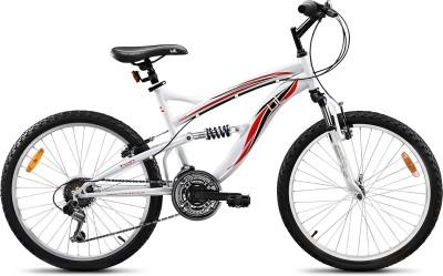 Hero UT DSJ2 24inch 18 Speed 200015 Road Cycle(White)
