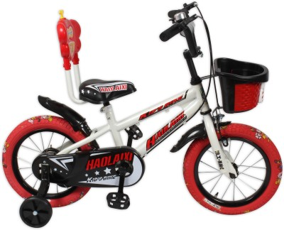 HLX-NMC KIDS BICYCLE 14 PRINTED TYRE WHITE/RED 14PTWTRD Recreation Cycle