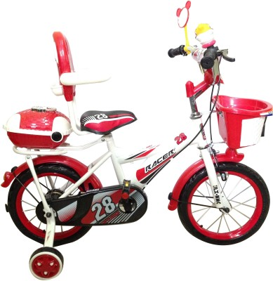 HLX-NMC KIDS BICYCLE 14 BOWTIE RED/WHITE 14BOWTIERDWT Recreation Cycle
