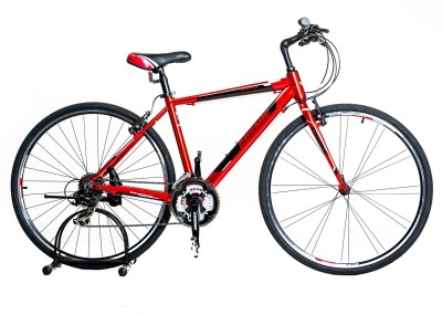 COSMIC Shuffle Hybrid 700c Red CS-HYBAIR700CWT Hybrid Cycle(Red)