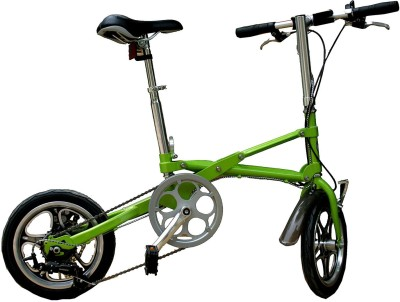 Adraxx Super Folding Bike For City And Vacations With 7 Speed Gears 411413B BMX Cycle