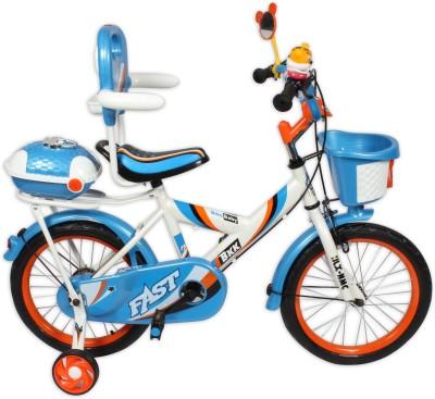 HLX-NMC KIDS BICYCLE 16 BOWTIE WHITE/BLUE 16BOWTIEWTBL Recreation Cycle