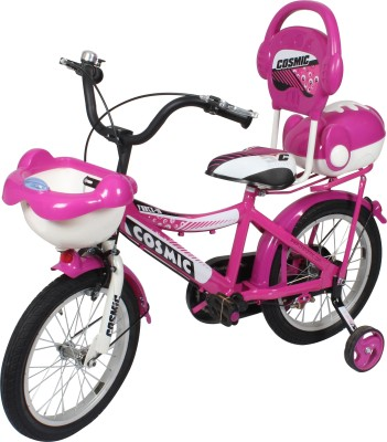 COSMIC 16 INCH FORCE 10 KIDS BICYCLE PINK 16FORCE10PKWT Recreation Cycle