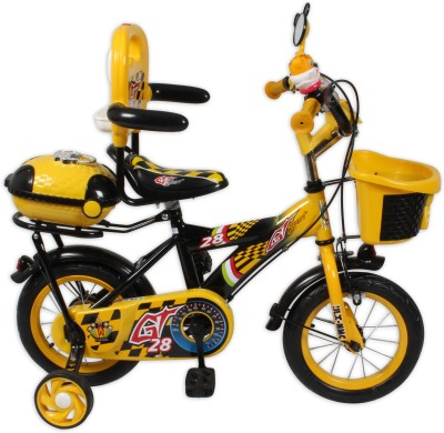 HLX-NMC KIDS BICYCLE 12 BOWTIE YELLOW/BLACK 12BOWTIEYLBK Recreation Cycle