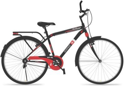Gang Ezi-Go Gents 26 gegg26 Hybrid Cycle(Black, Red)