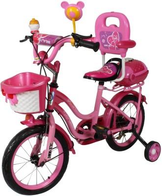 HLX-NMC KIDS BICYCLE 14 BOWTIE DARK PINK 14BOWTIEDPK Recreation Cycle