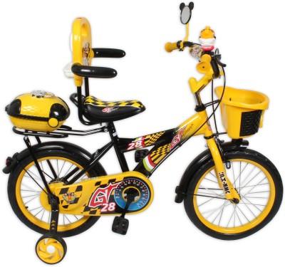 HLX-NMC KIDS BICYCLE 16 BOWTIE YELLOW/BLACK 16BOWTIEYLBK Recreation Cycle