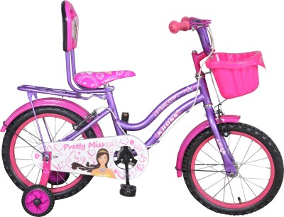 Kross Pretty Miss 16 402507 Recreation Cycle(Purple, Pink)