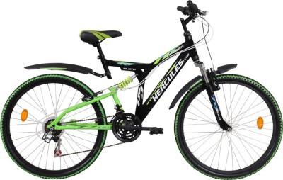 HERCULES TopGear Tz-110 26T MS V Black&Green 1FG245G0922000A Mountain Cycle