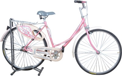 Atlas LIVIA 26T Single Speed Pink LIVLPK26 Mountain Cycle(Multicolor)