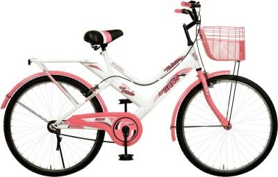 Gang Platinum Diva 24 gpd24 Hybrid Cycle(White, Black, Pink)
