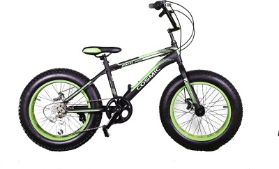 COSMIC Fatso 7S 20 Black&Green CS-20MSFATBKGN Mountain Cycle(Green)