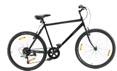 BSA Mach City i Bike Seven Speed Mountain Cycle(Black)