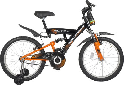 Hero Sprint 20T Elite SELT20BKOR01 Road Cycle(Black, Orange)