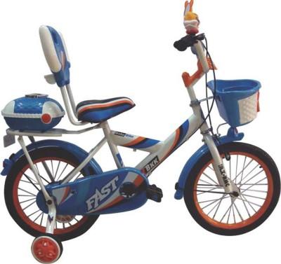 HLX-NMC KIDS BICYCLE 14 BOWTIE WHITE/BLUE 14BOWTIEWTBL Recreation Cycle
