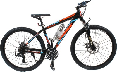 COSMIC TRIUM 27.5 INCH MTB BICYCLE 21 SPEED BLACK/BLUE-PREMIUM EDITION TRIUM26BKBL Hybrid Cycle