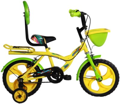BSA CHAMP ROCKY JUNIOR 14 INCH BICYCLE YELLOW 14 Road Cycle