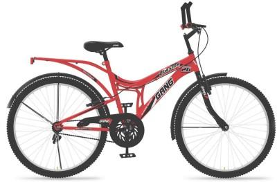 Gang Blaster 26 gb26 Hybrid Cycle(Black, Red)