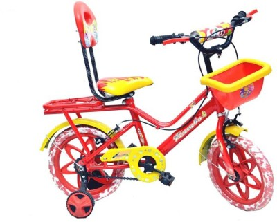 Taaza Garam Attractive Kids Cycle with Carrier Z0999 Road Cycle
