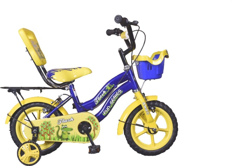 Hero Flash 12T S365BBDFL01 Road Cycle(Yellow, Blue)