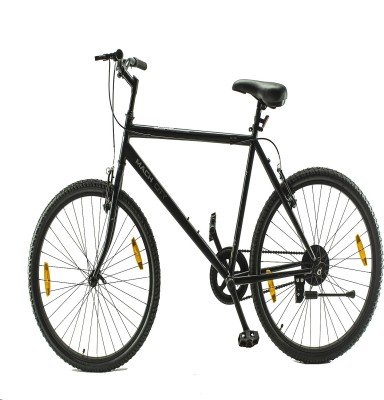 BSA Mach City i Bike Single Speed Mountain Cycle(Black)