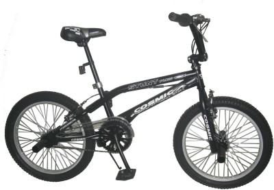 COSMIC STUNT PLUS 20 INCH BMX BICYCLE BLACK (MATT FINISH ) 20STUNTPLUSMTBK BMX Cycle