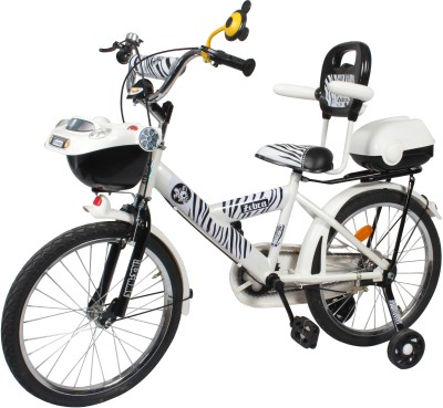 HLX-NMC 20 INCH CARX KIDS BICYCLE ZEBRA STYLE 20CARXZR Recreation Cycle(White, Black)