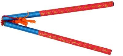 Elite Handicrafts Beautiful Dandiya Sticks Dandia Sticks(Multicolor)