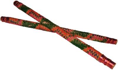 Dakshcraft Colorful Decorative Wooden Dandia Sticks(Multicolor)