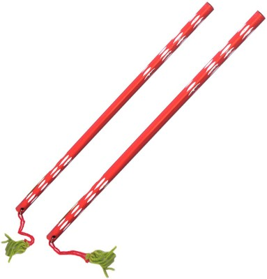 Indiangiftemporium Dandia Sticks(Red)