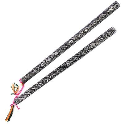 Indiangiftemporium Dandia Sticks(Silver)