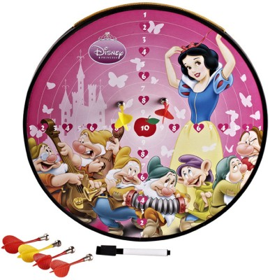 Disney Princess Funny Multi-Function Magnetic Soft Tip Dart(Pack of 4)