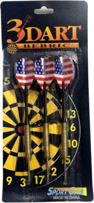 SPOFIT 123456 Steel Tip Dart(Pack of 3)