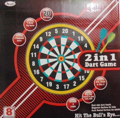 Annie 2 In 1 Dart Game Steel Tip Dart