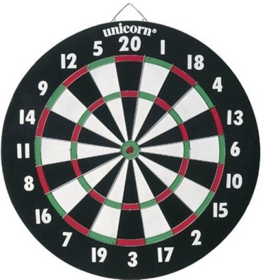 Unicorn XL Paper Dartboard 15 x 1/2 Steel Tip Dart(Pack of 1)
