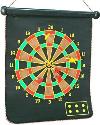 Bgroovy Multicolor Foldable Magnetic Dart Board Steel Tip Dart