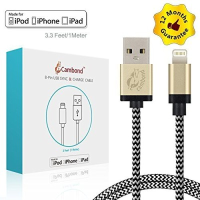 Gear Beast CBL-WI028-WHT Lightning Cable
