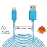 Fcolor 3216847 Lightning Cable (Blue)
