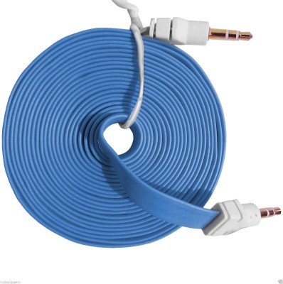 My Choice Universal Audio 3.5mm 3 Meter Long (Flat Wire) AUX Cable