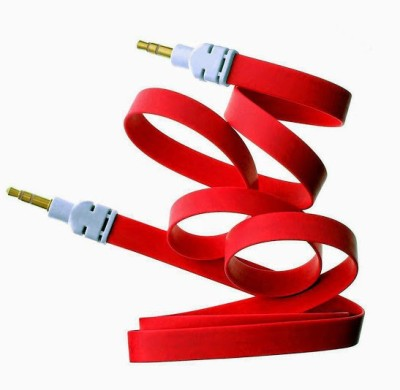 My Choice Universal Audio 3.5mm 1 Meter Long (Flat Wire) AUX Cable